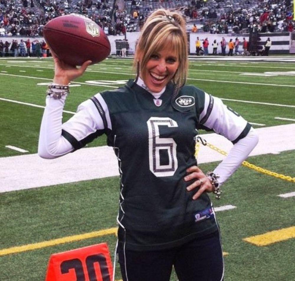 Η Garcia με τους Jets
