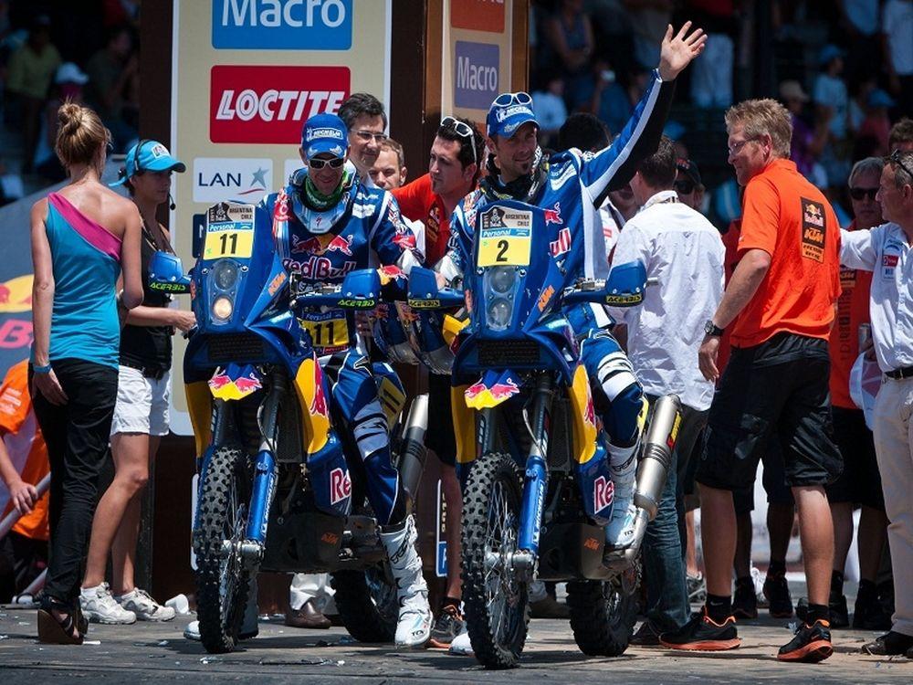 Το καλύτερο ράλι Dakar για την KTM