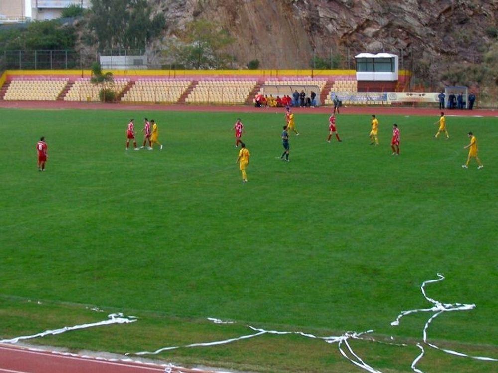 Άγιαξ Ταύρου- ΠΑΟΚ Γλυφάδας 0-0