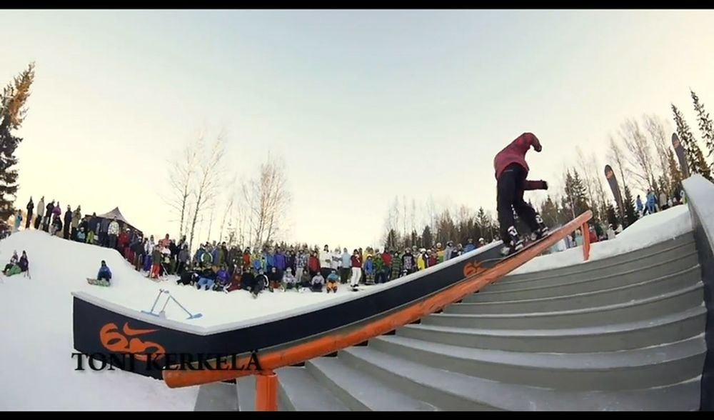 Nike 6.0 Stairset Battle Tour Talma, FIN