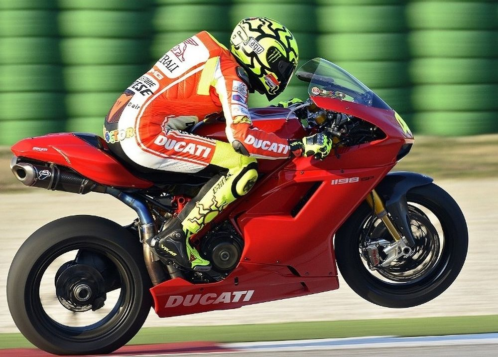 Ο Rossi δοκιμάζει την αντοχή του