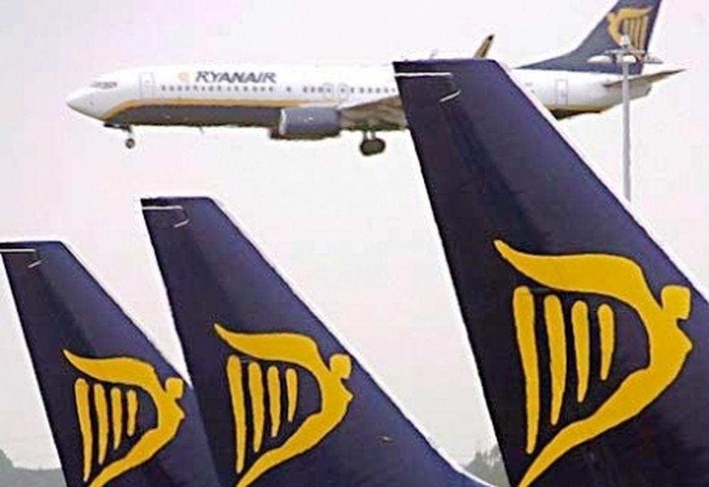 Ζημιές 10,3 εκατ. ευρώ για την Ryanair