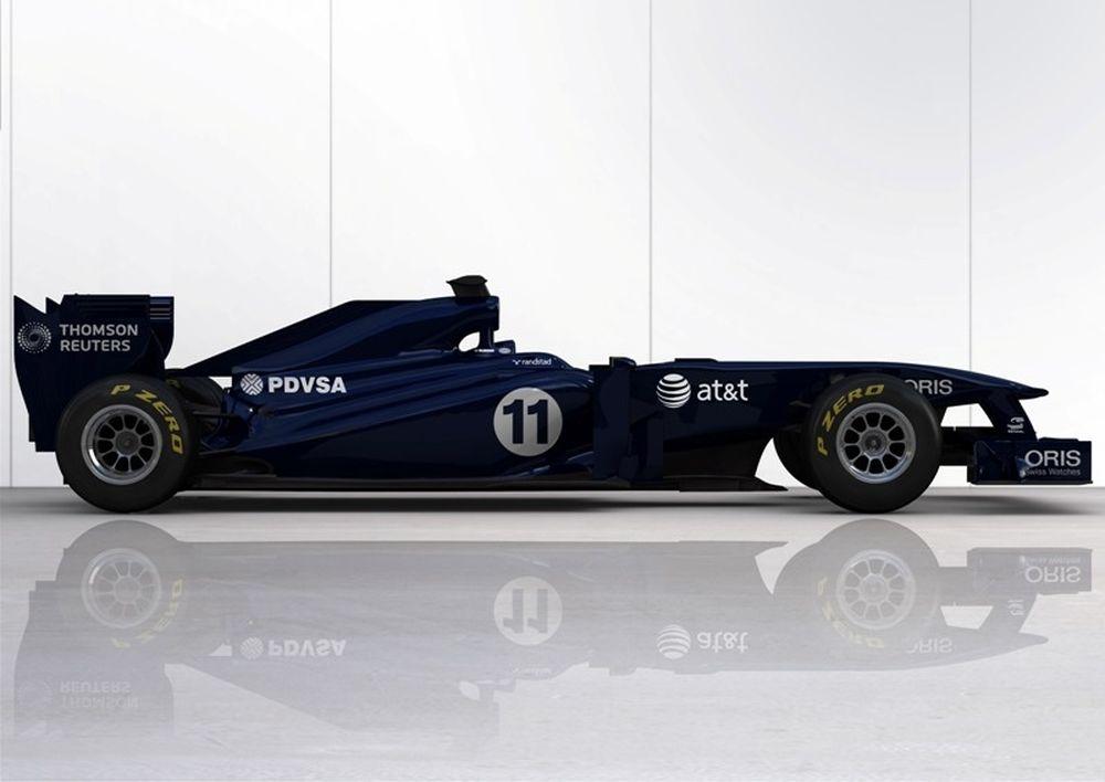 H Williams δοκιμάζει την FW33