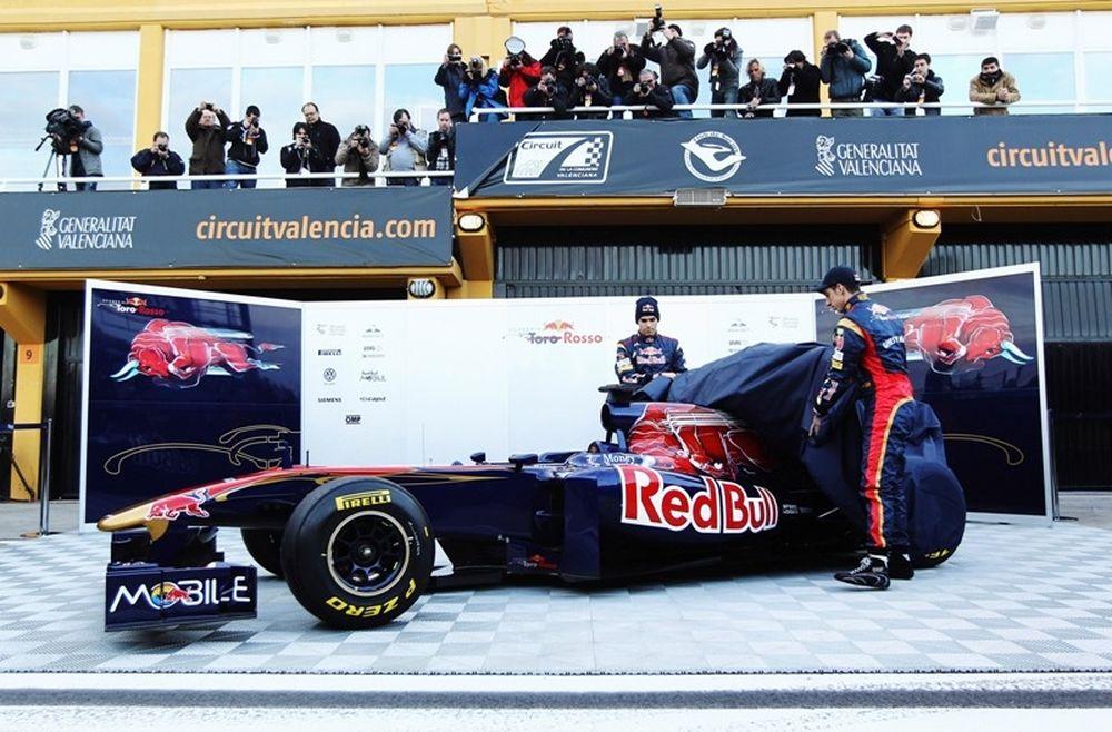 Η Toro Rosso στη Βαλένθια