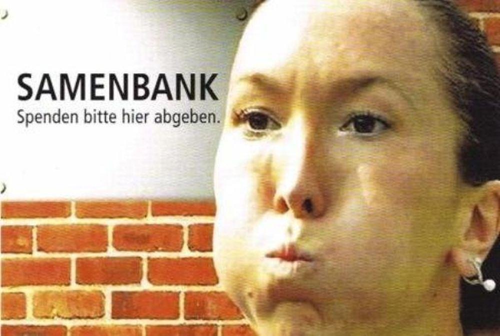 Σε καμπάνια... τράπεζας σπέρματος!