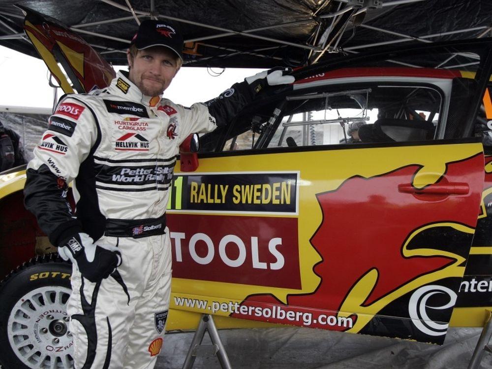 Ο Σόλμπεργκ δοκιμάζει το DS3 WRC