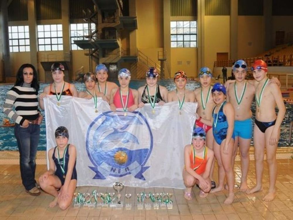 Πολλά μετάλλια τα «δελφίνια»