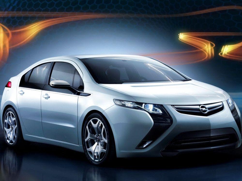 Opel Ampera: Προσιτή ηλεκτροκίνηση