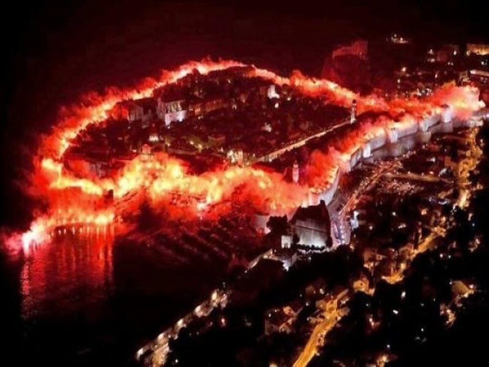 «Κάηκε» η Κροατία (video)