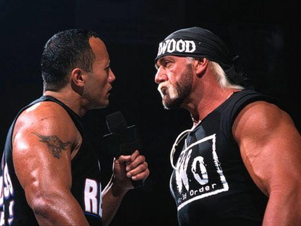 O θρυλικός Rock στο Raw