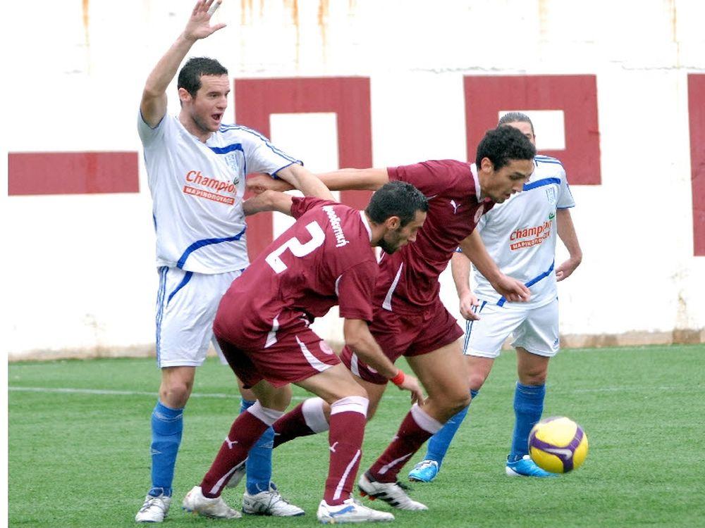Προοδευτική-Σαρωνικός Αίγινας 3-0