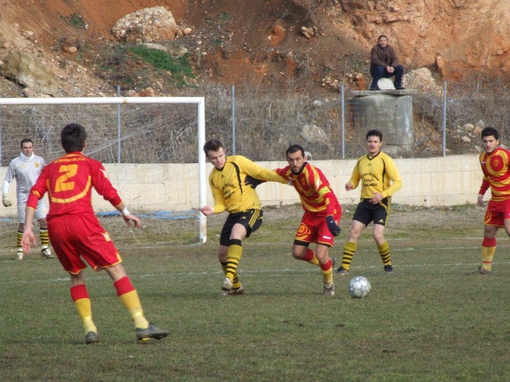 Αρης Λόφων – Καστοριά 0-4