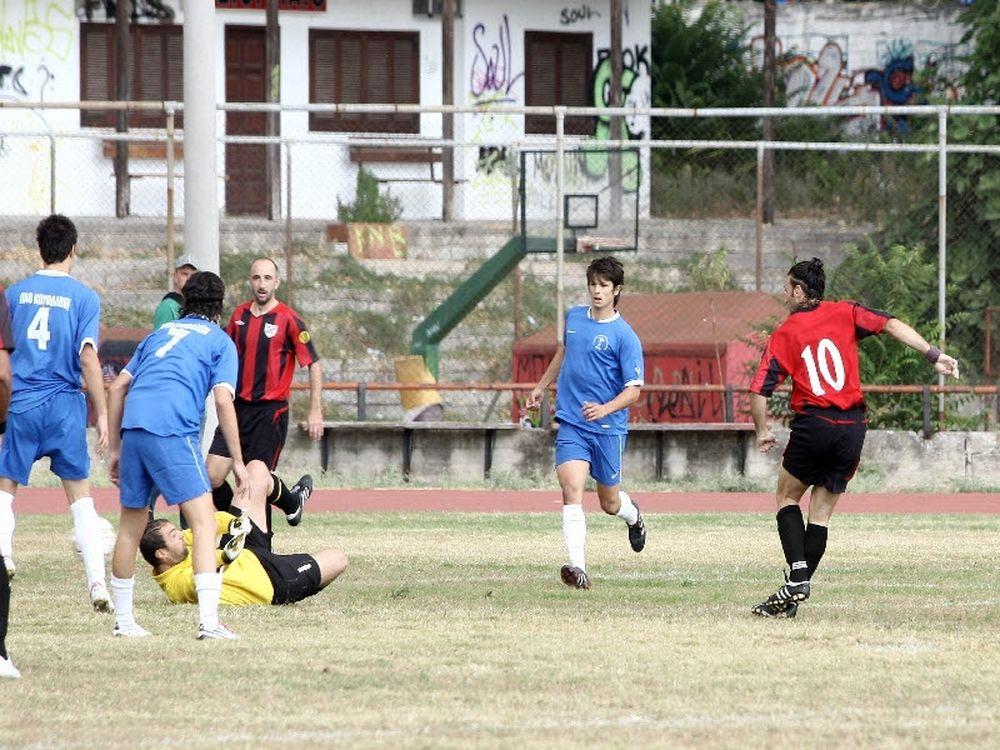 Κουφάλια – Νίκη Πολυγύρου 3-0