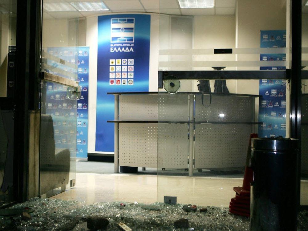 Έκρηξη στα γραφεία της Λίγκας