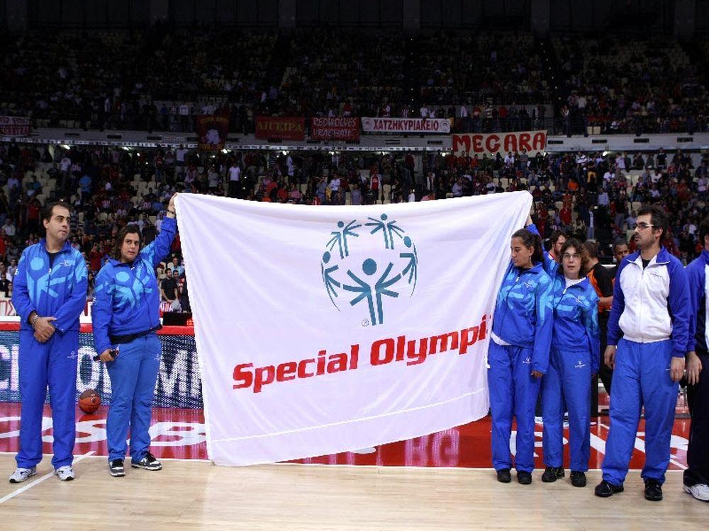 Για μετάλλιο στα Sp. Olympics