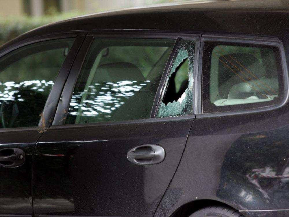 Φωτογραφίες από την επίθεση