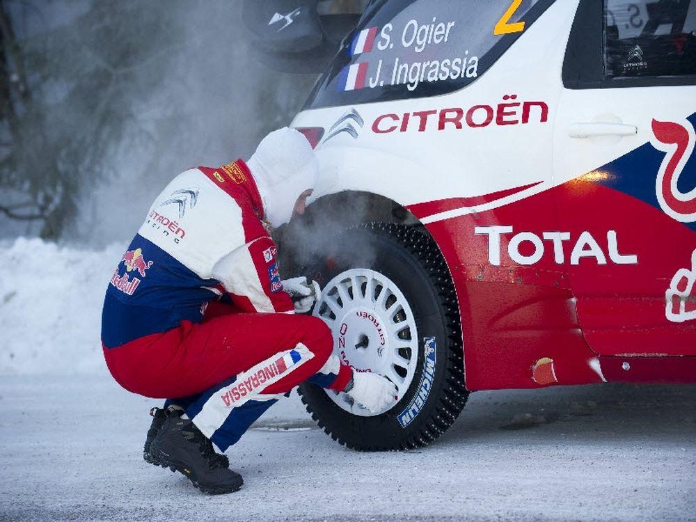 Πρόβλημα με τα ελαστικά στο WRC