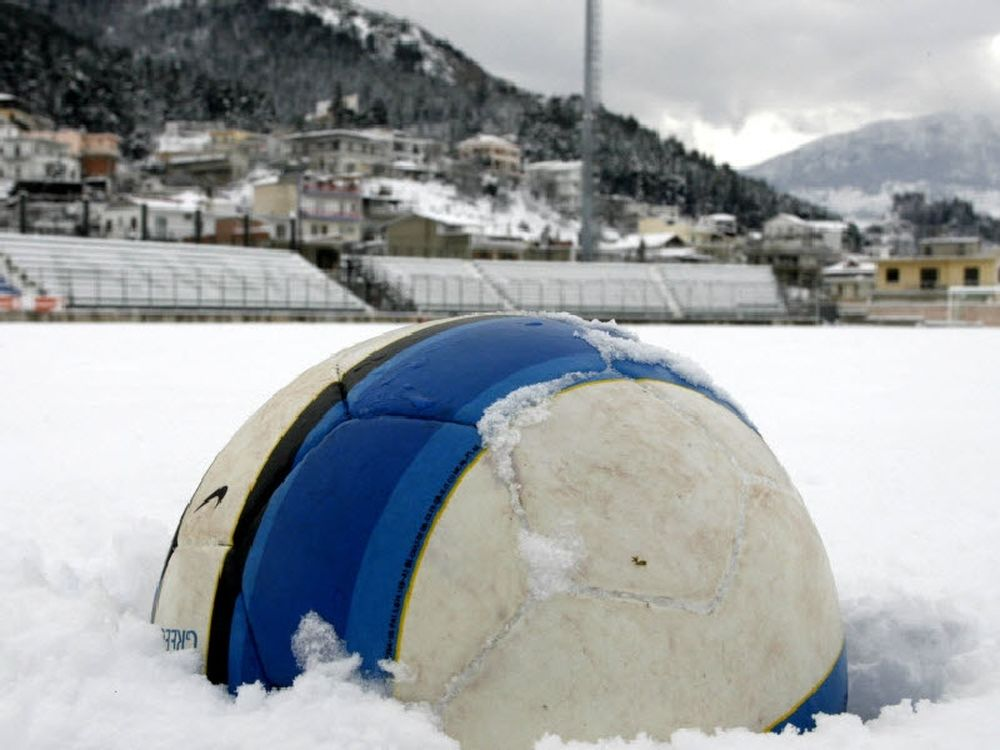 Αναβολή λόγω χιονιού
