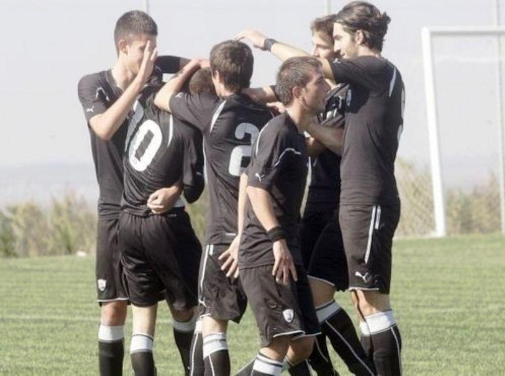 ΠΑΟΚ-Καβάλα 2-0 (Κ17)