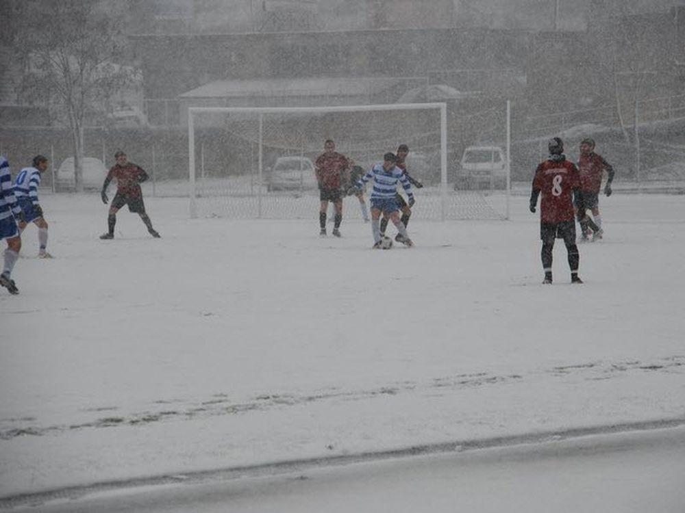 Χιόνια στον τελικό!