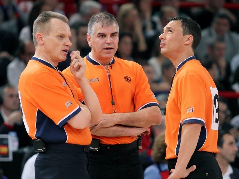 Δύο ρέφερι στο Ευρωμπάσκετ