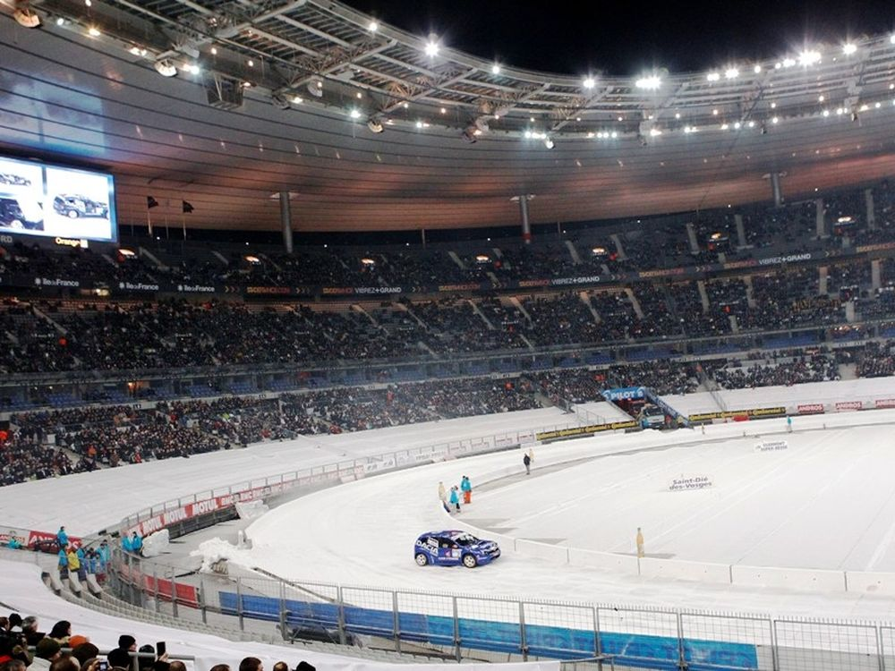 Ο Προστ στο Stade de France