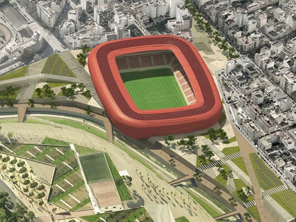 Το νέο γήπεδο της Μαγιόρκα!