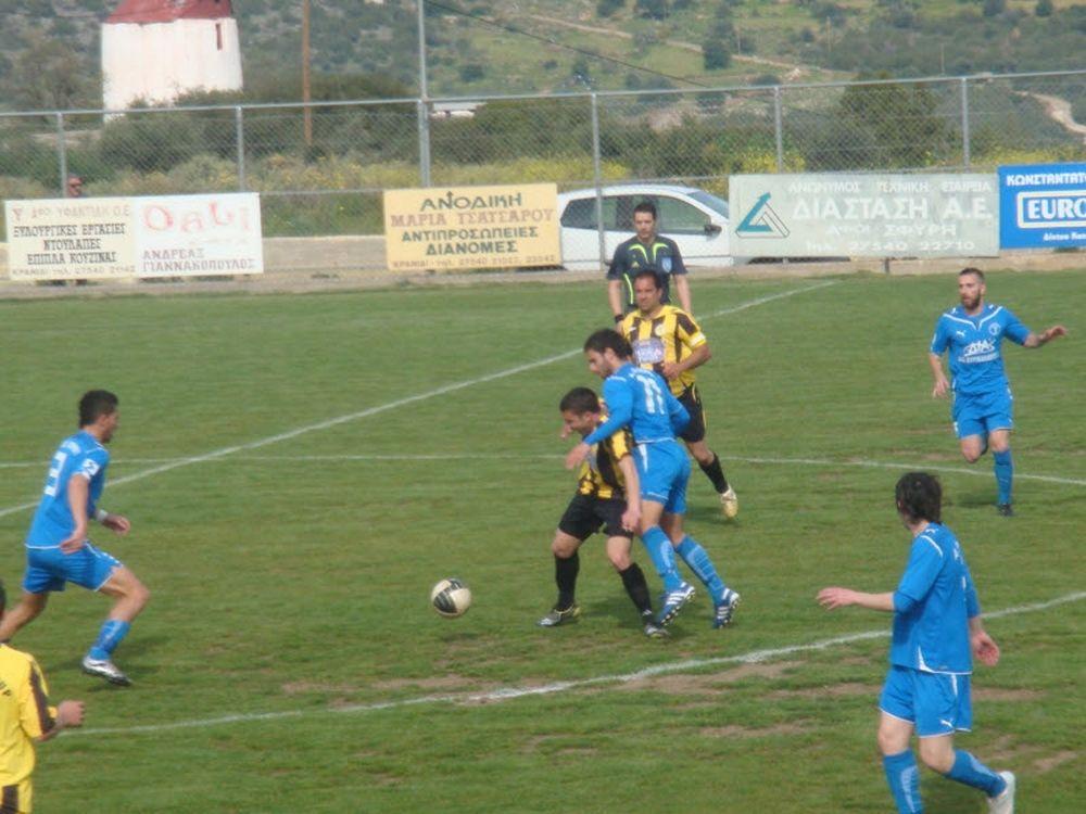 ΑΕ Κρανιδίου-Πόρος 1-1