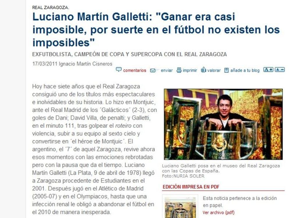 Γκαλέτι: «Τίποτα αδύνατο»