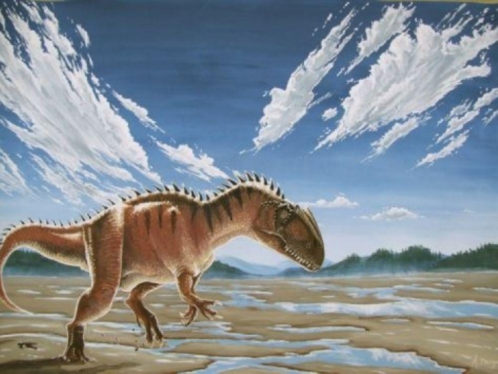 O μεγαλύτερος δεινόσαυρος