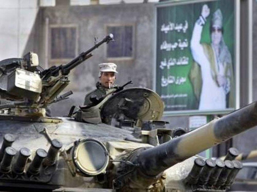 Μπήκε ο Καντάφι στη Βεγγάζη!