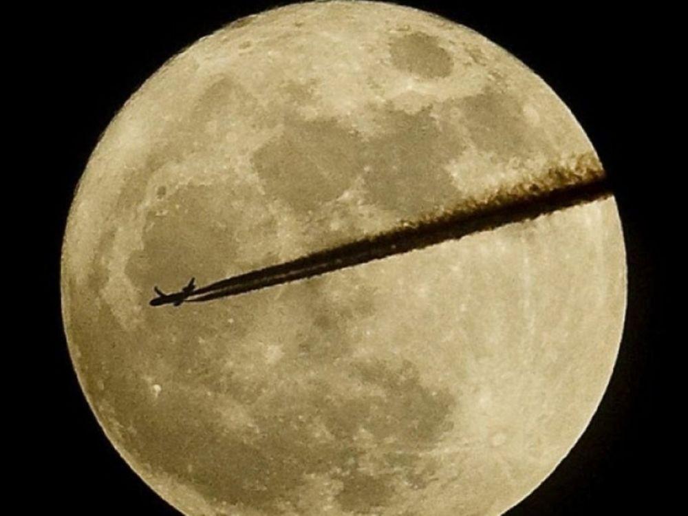 Σελήνη σε σπάνιες εικόνες