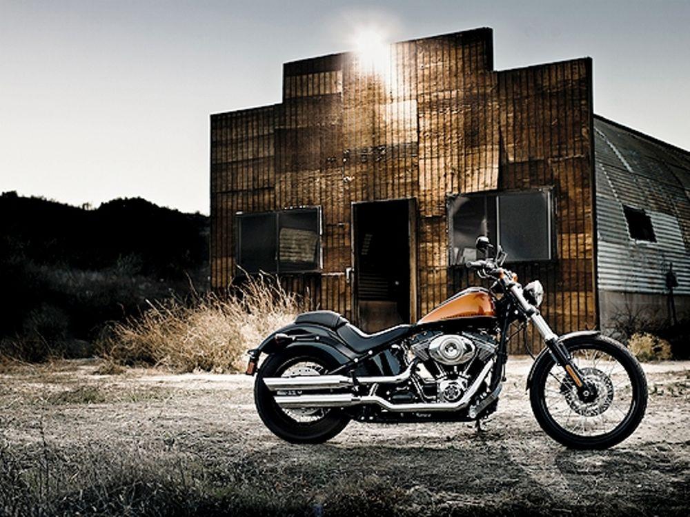 Με μια Harley απλά, ξεφεύγεις