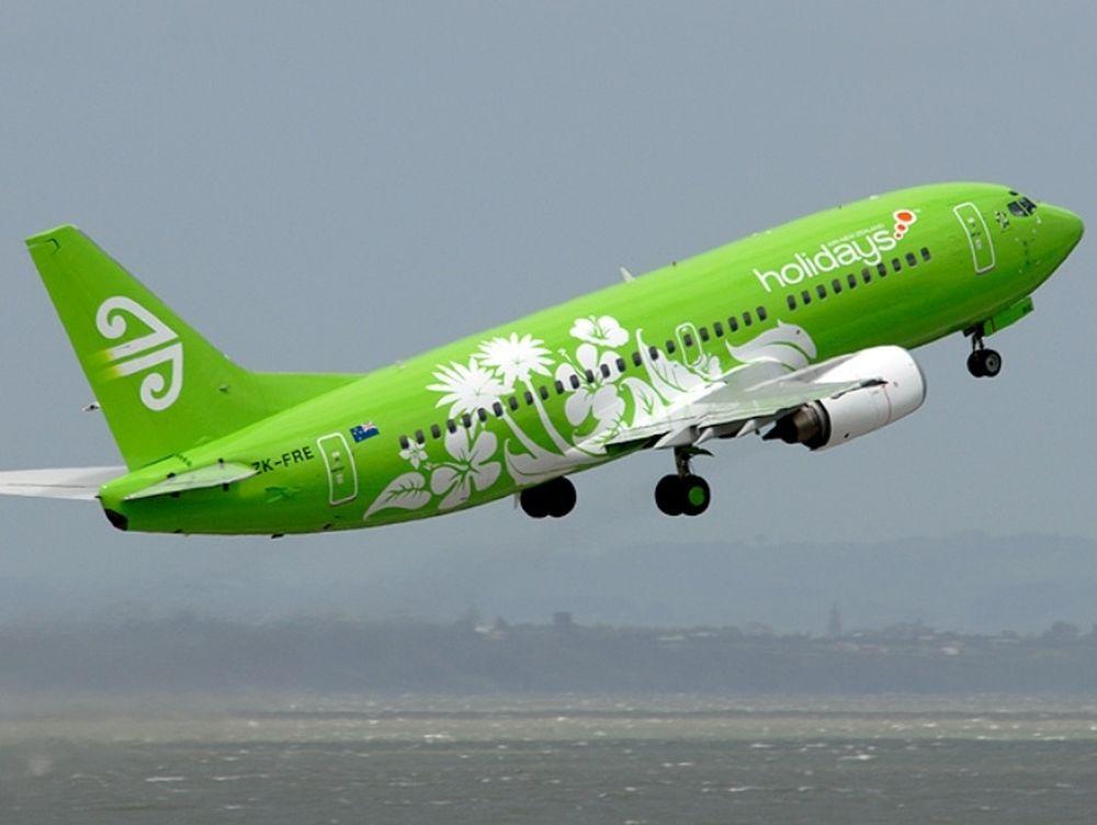 Με καταπράσινο αεροπλάνο