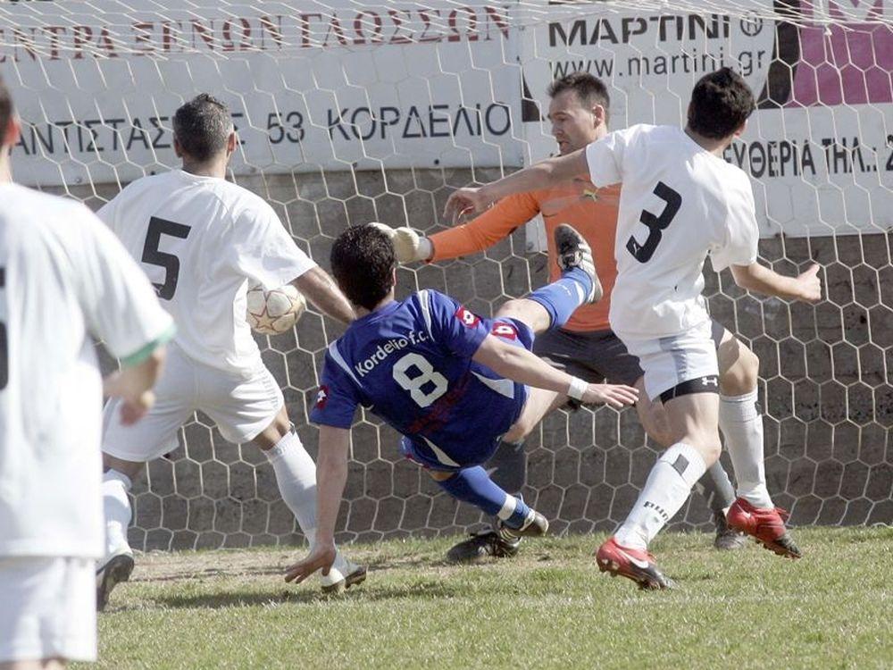 Κορδελιό – Χέρσο 1-0