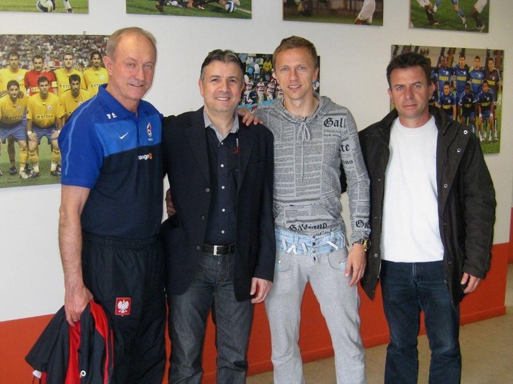Συνάντηση Μπαζίνσκι-Πολωνών (photos)