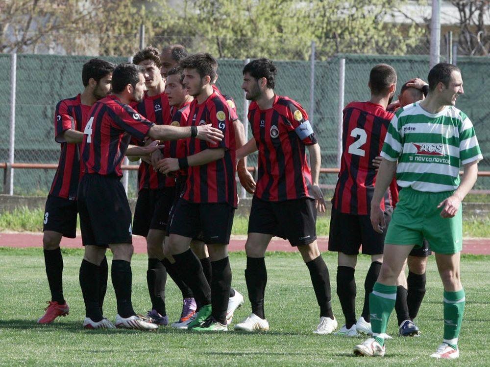 Καλαμαριά-Νίκη Πολυγύρου 4-1
