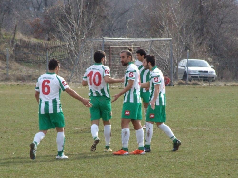 Μακεδονικός Σ.–Αλεξάνδρεια 0-3