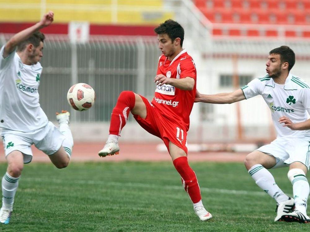 Ολυμπιακός Β.-Παναθηναϊκός 0-1 (Κ20)
