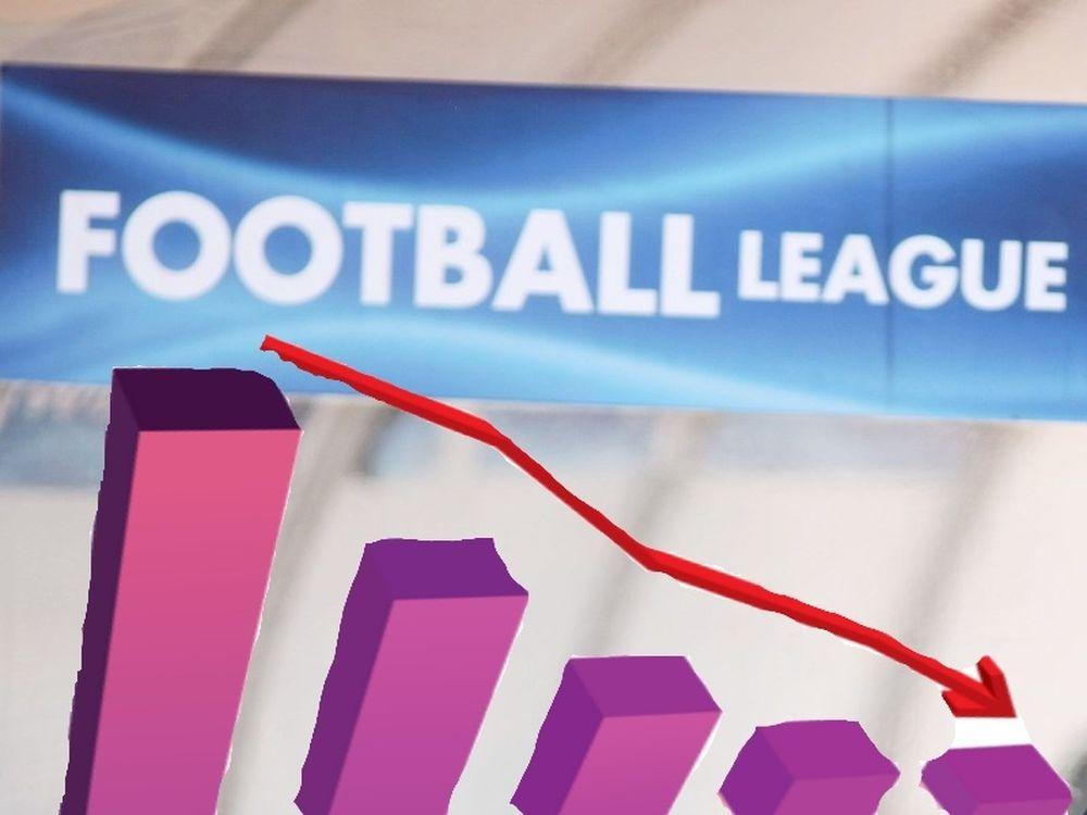 «Πεσμένη» η Football League