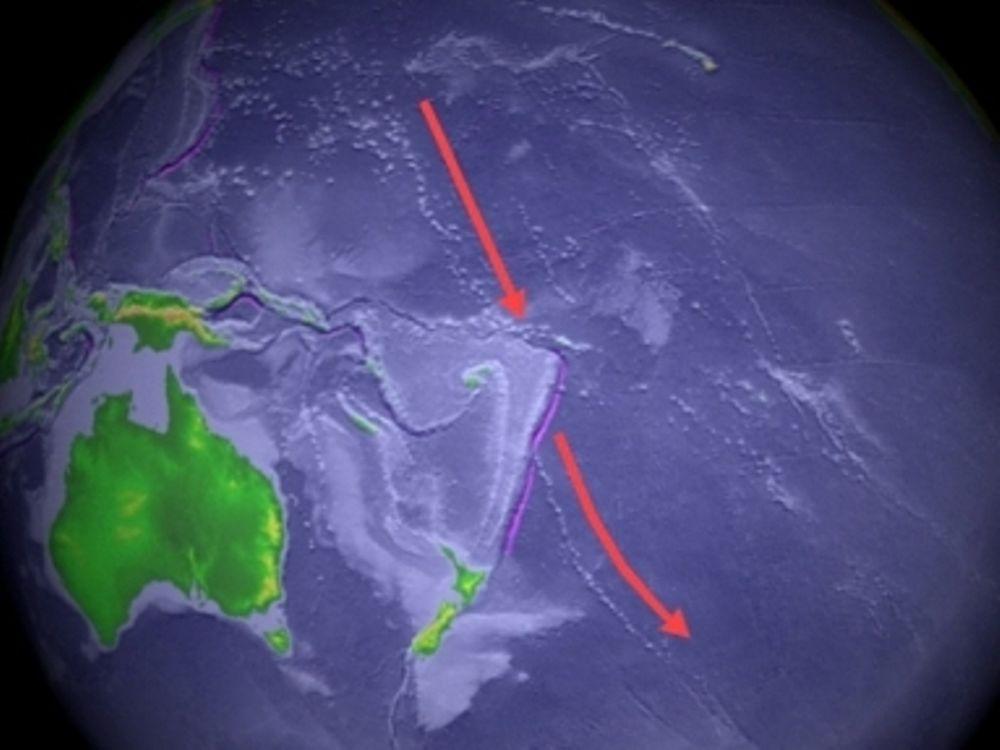 Αποστολή στα βάθη του Ειρηνικού