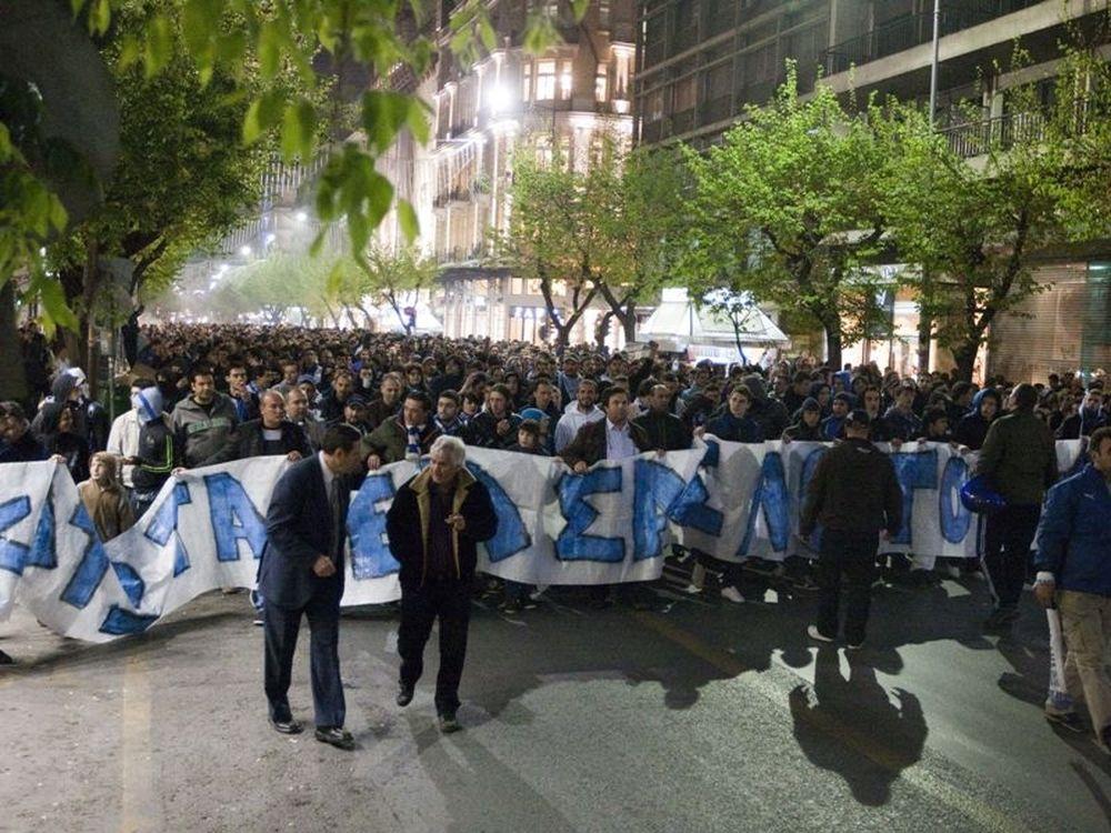 Η πορεία στη Θεσσαλονίκη