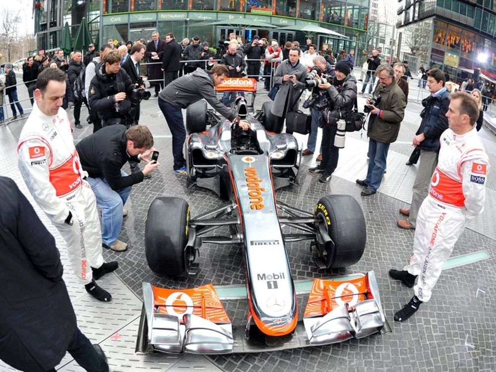 Συνεργασία Καντάφι / McLaren