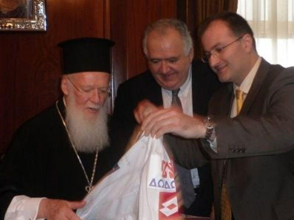 Επίσκεψη Χριστοβασίλη στο Πατριαρχείο