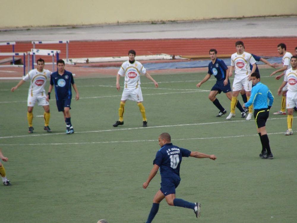 Ολυμπιακός Ν. Λ. – Ιάσωνας 0-0