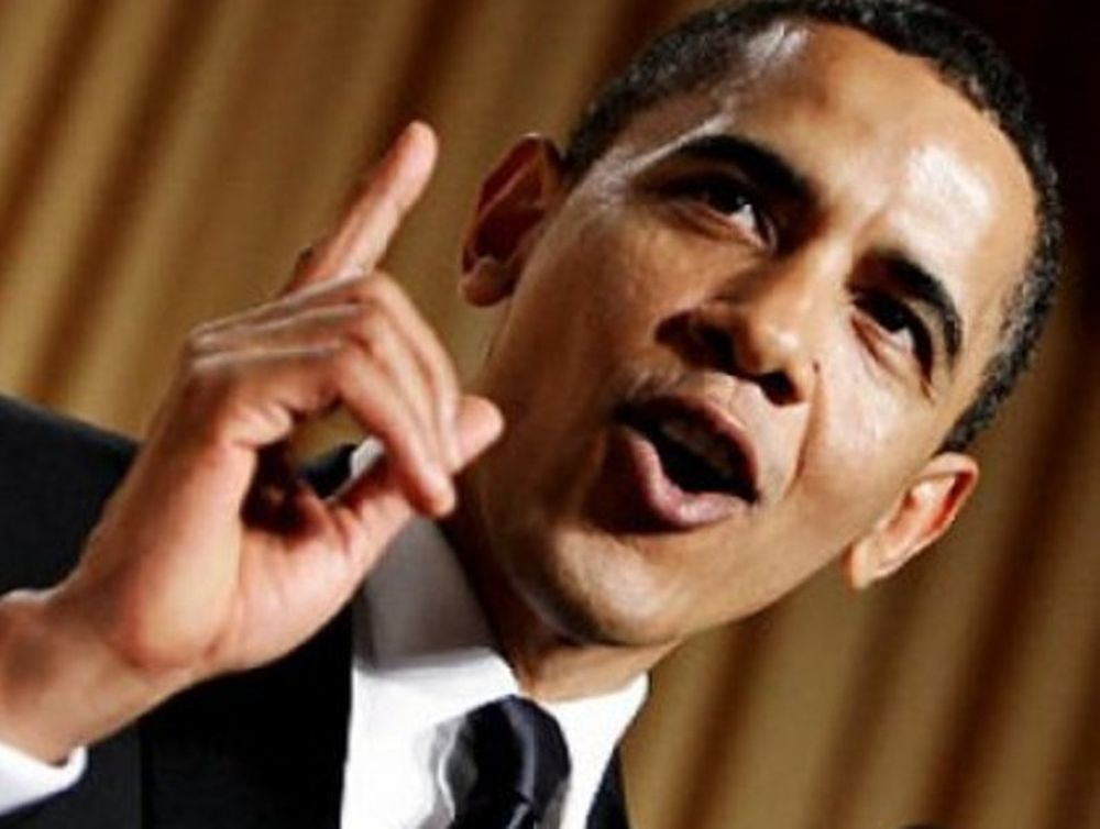 Ο Obama σε ρόλο κωμικού