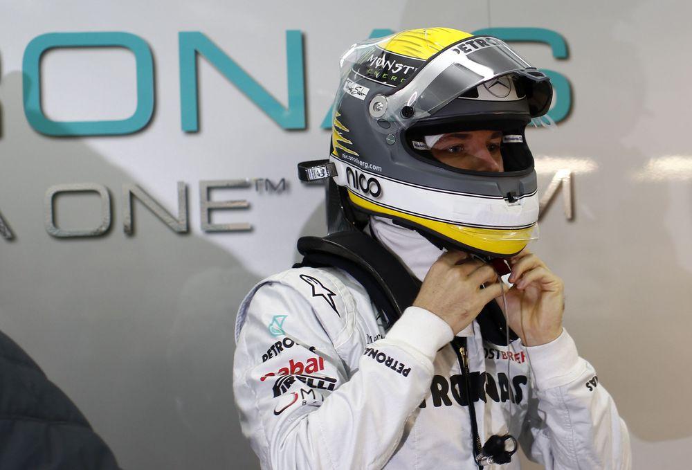 Ο Ρόζμπεργκ στη Ferrari