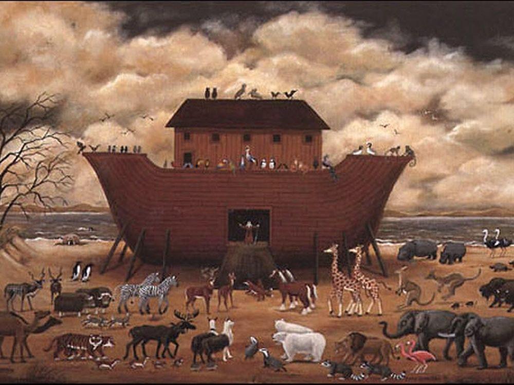 Ο Νώε και τα επιπλέει οφ