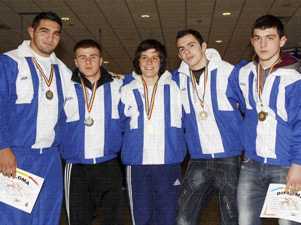 Έξι μετάλλια στη Ρουμανία