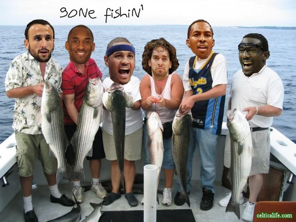 Βγήκαν για ψάρεμα!